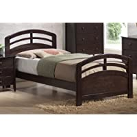 ACME San Marino Dark Walnut Twin Bed