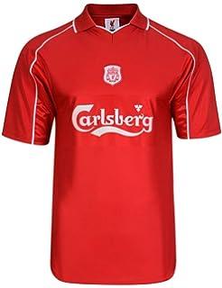 6ae3482c869 Official Retro Liverpool FC 2000 Retro Football Shirt 100% POLYESTER