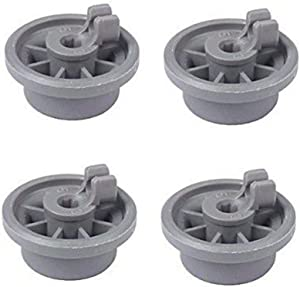 B0833P7P6P Redcolourful 4Pcs Wheel for Bosch Siemens Neff 165314 Dishwasher Accessories