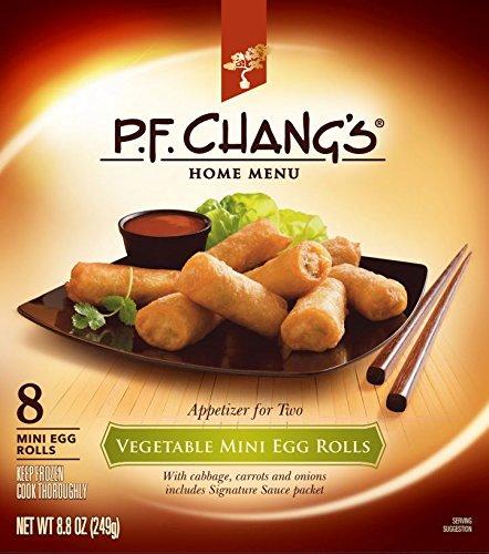(P.F. Chang's Home Menu Appetizer for 2, Vegetable Mini Egg Rolls, 8.8 Oz)