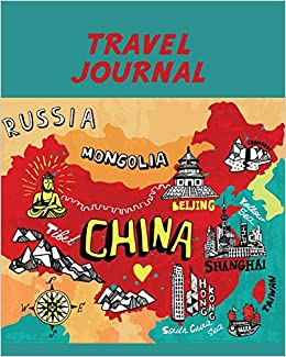 Travel Journal Map Of China Kid S Travel Journal Simple Fun