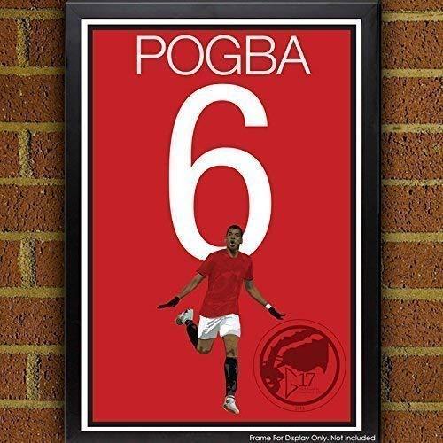 Paul Pogba Poster - Manchester United Art