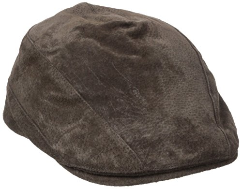 Stetson Men's Suede Ivy Cap, Taupe, X-Large