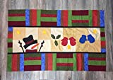 Christmas Snowman Handmade Classic Tapestry
