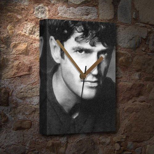 RUPERT EVERETT - Canvas Clock (A5 - Signed by the Artist) #js001