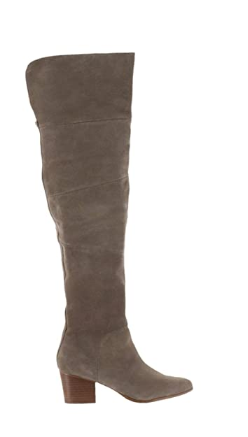 f926bcb6ab8 Sole Society Suede Over The Knee Boots Melbourne Mushroom 6.5M New A279871