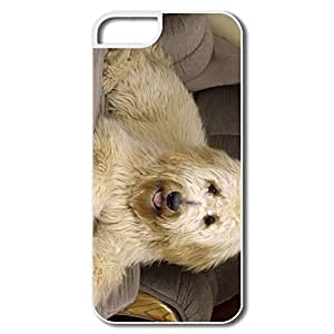 IPhone 5S Case, Goldendoodle Protector For IPhone 5S - White Hard Plastic