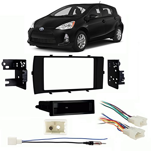 2017 Single DIN Stereo Harness Radio Install Dash Kit ()