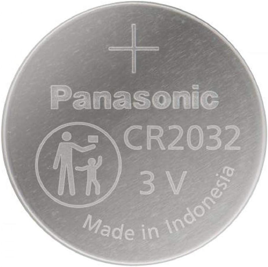 Panasonic Cr2032 Lithium Knopfzellen Batterie 12 Er Elektronik
