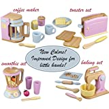 Kitchen Pastel Wooden Play Food Set