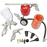 Kit 11 pièces d'outils pneumatiques pour compresseur
