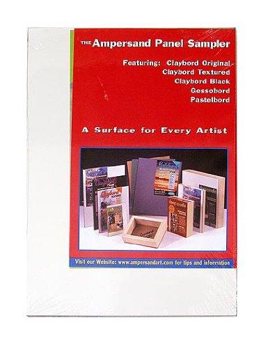 Ampersand Claybord Panel - Ampersand Claybord Multi-Pack set of 5