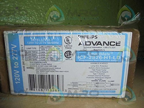 (Advance ICF-2S26-H1-LD SmartMate 2x26W CFL 4-Pin Ballast -)