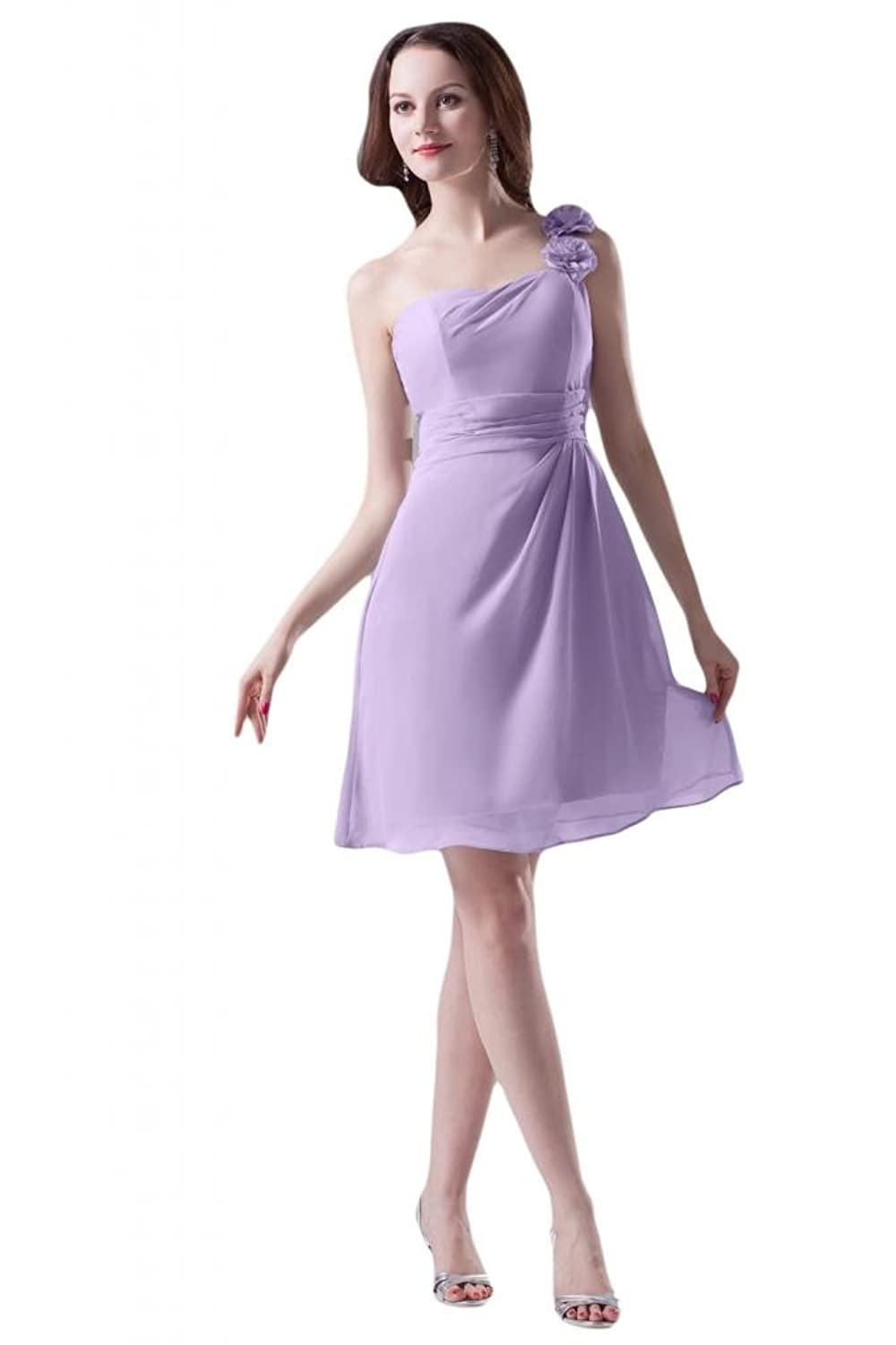 Sunvary Sleeveless Lilac Organza Tulle Party Dresses Cocktail Ball Gowns