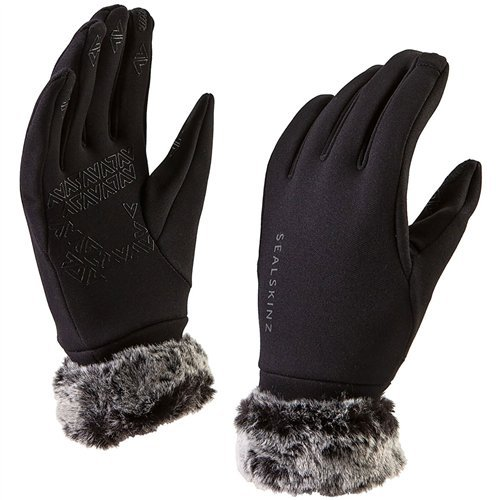 (Sealskinz Stretch Fleece Nano Womens Gloves X Large Black)
