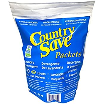 Amazon Com Country Save He Laundry Detergent Powder 160