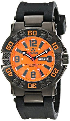 - REACTOR Men's 44008 MX Orange Dial Watch (Amazon Exclusive)