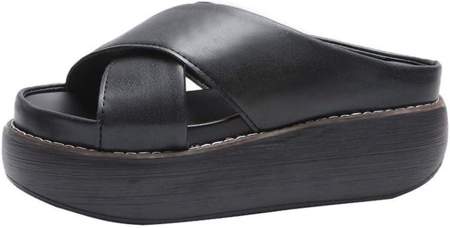 wide foot platform sandals