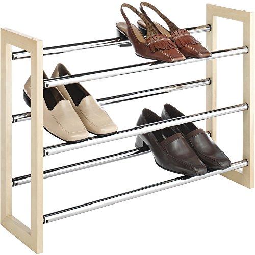 Whitmor Stackable Expandable Shoe Rack product image
