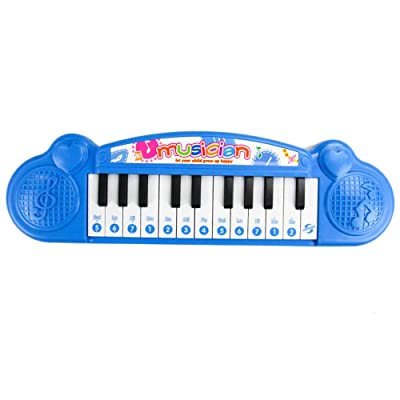 Livoty Musical Instrument Toy Baby Infant Toddler Kids Piano Developmental Music Toys (Blue): Sports & Outdoors