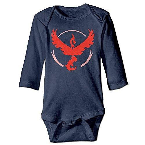 Price comparison product image Pokemon Go Baby Long Sleeve Bodysuits