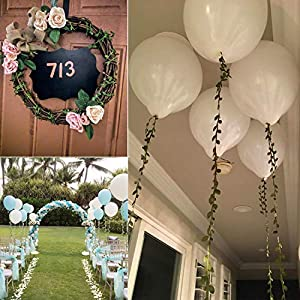252Ft Artificial Vines, Artificial Leaf Garland Wild Jungle Decorative Greenery Fake Hanging Plants Ivy Garlands Flower Rustic Wreaths Accessory DIY Crafts for Home Wall Garden Wedding Party Decor 3