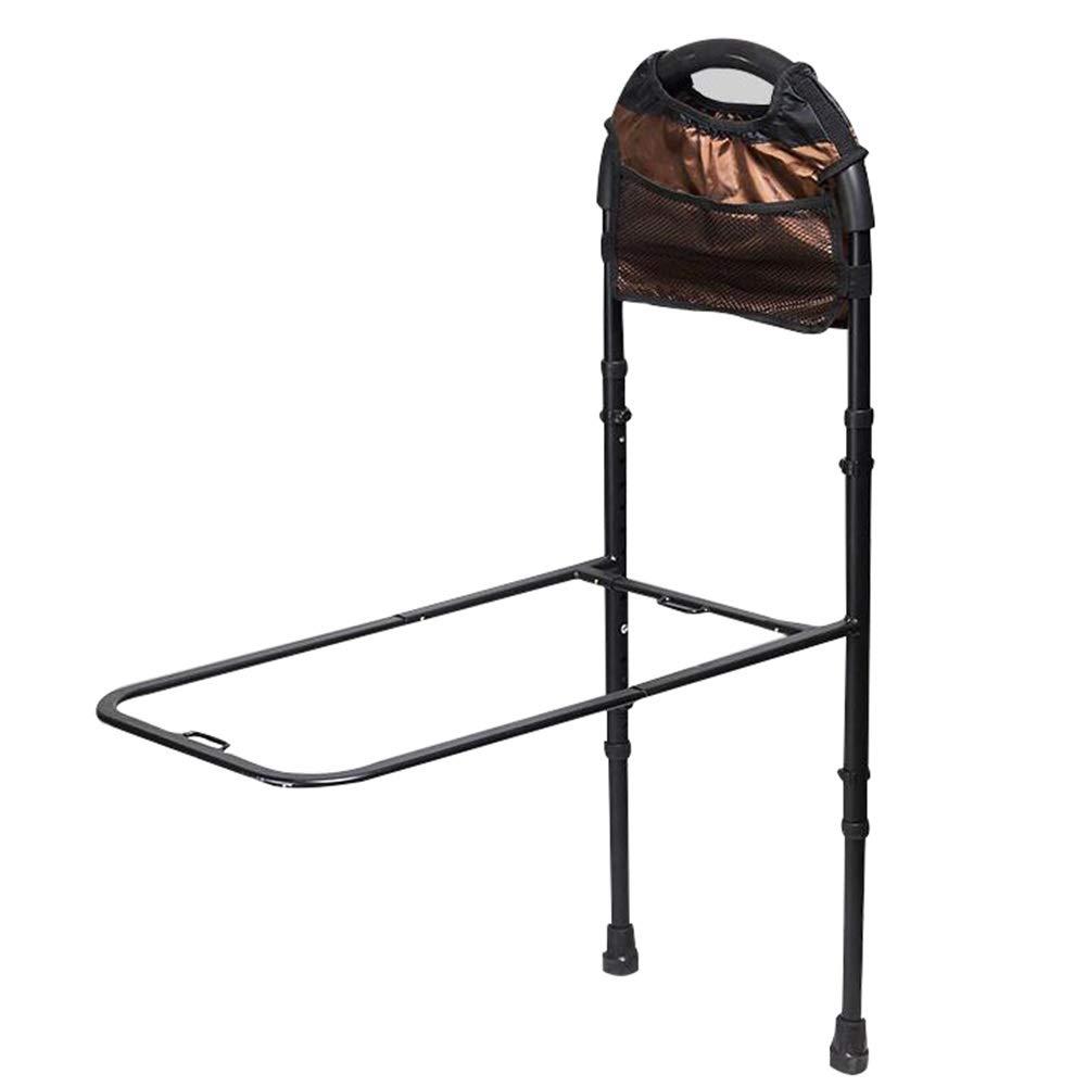 WHAIYAO ベッドレールお年寄りに最適アームレストベッドレール手すり補助ハンドルを取得します安全で信頼できる大きな支持力 (Color : Black, Size : 110x35CM) 110x35CM Black B07TLMHN55