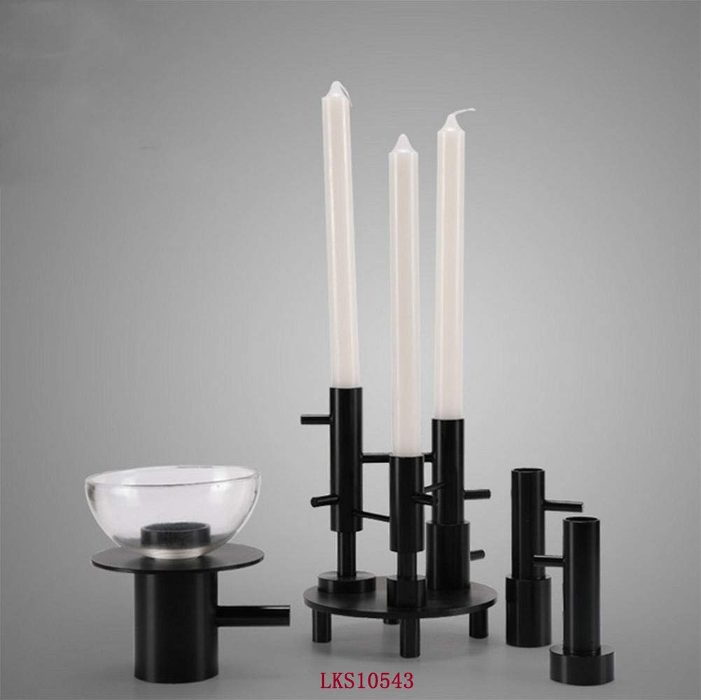 GZ SUCH WATT Taper Candle Holders Candlestick Holders, Vintage & Modern Decorative Centerpiece Candlestick Holders for Table Mantel Wedding Housewarming Gift by GZ SUCH WATT