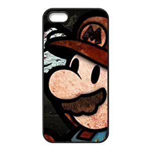 Life margin Mario phone Case For iPhone 5, 5S G77KH3145
