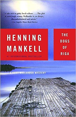 Amazon The Dogs Of Riga 9781400031528 Henning Mankell Books