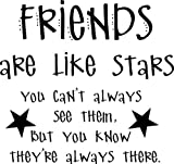 Best Are Like Stars Wall Stickers - Top Selling Decals - Prices Reduced : Friends Review