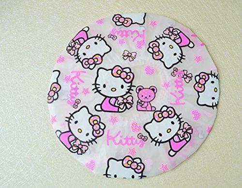 CJB Hello Kitty Bath Shower Caps Hats KT Heads (US Seller)