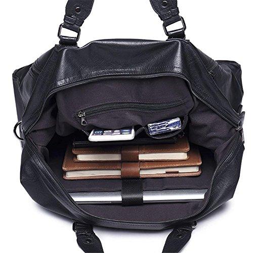 Bolsa de Viaje Hombro Diagonal Cruz Pack Impermeable Wearable Mochila Casual Maletín