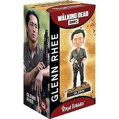 Royal Bobbles The Walking Dead Glenn Rhee Bobblehead: Toys & Games