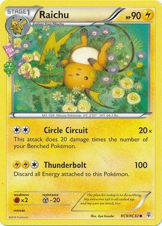 (Pokemon - Raichu (RC9) - Generations)