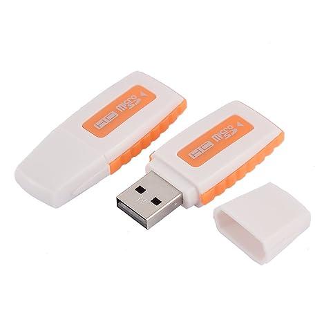 Amazon.com: Uxcell Trans Flash lector de tarjetas de memoria ...
