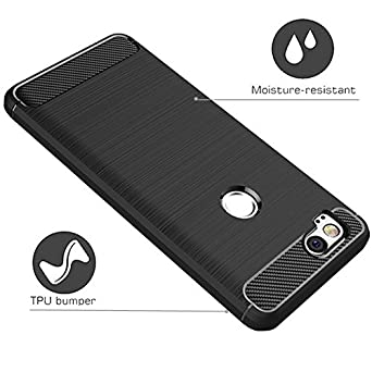 Amazon.com: Google Pixel 2 Case,Google Pixel2 Case, Dretal Carbon Fiber Shock Resistant Brushed Texture Soft TPU Phone case Anti-Fingerprint Flexible ...