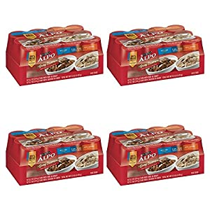 Purina ALPO Gravy Cravers Beef & Chicken Variety Pack Adult Wet Dog Food - (12) 13.2 oz. Cans (PACK OF 4)