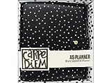 Carpe Diem Black Speckle A5 Planner (1 Unit)
