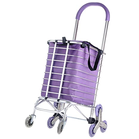 1d825ab05a69 Amazon.com: XBSTC Shopping Cart For The Elderly, Grocery Shopping ...