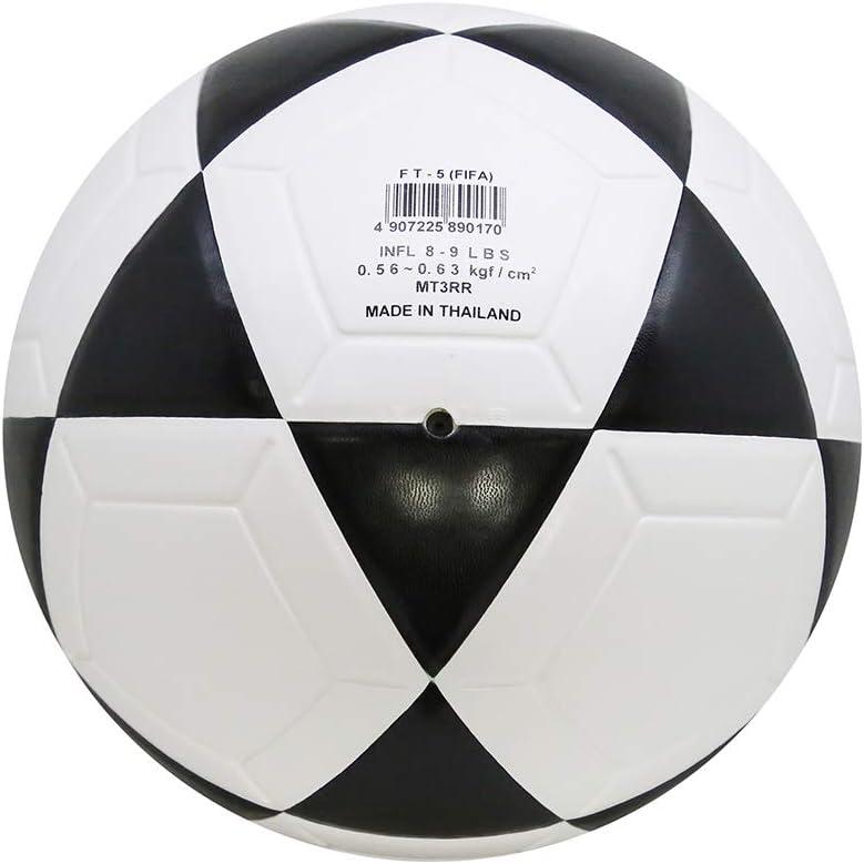 MIKASA Ft-5 Pro - Balón de fútbol, Color Negro y Blanco: Amazon.es ...