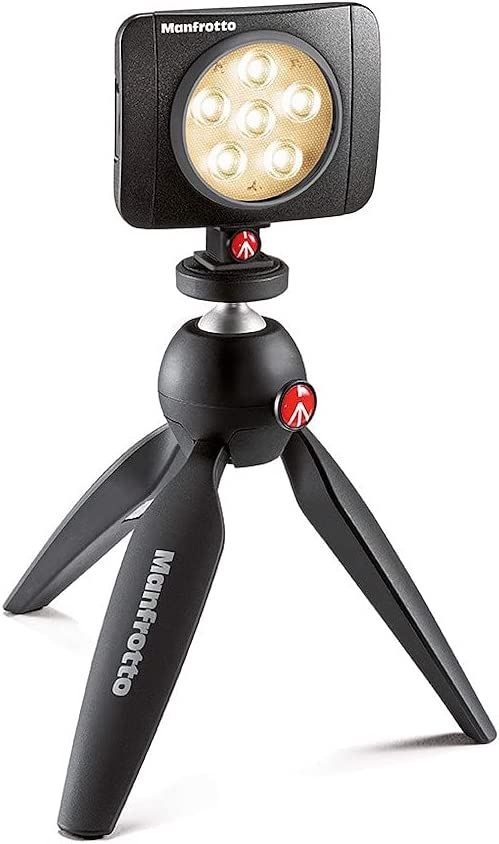 Manfrotto Lumimuse 6 Led Licht Schwarz Kamera