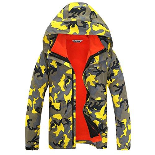 LANBAOSI-Unisex-Professional-Tech-Mountain-Ski-Coat-3in1-Camo-Waterproof-Rain-Jacket