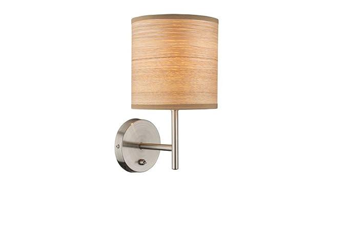 Lampada da parete decorativo globo 15189w: amazon.it: illuminazione