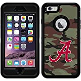 Alabama - Camo Red A design on Black OtterBox Defender Series Case for iPhone 6 Plus and iPhone 6s Plus