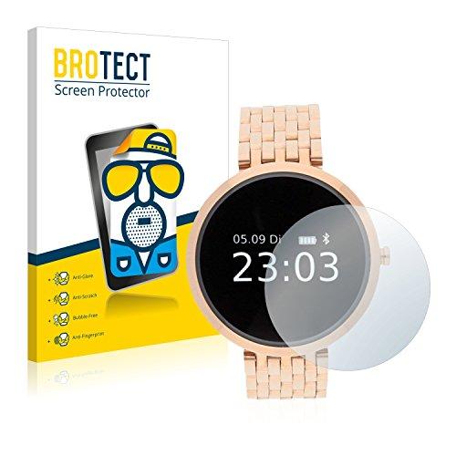 BROTECT 2X Entspiegelungs-Schutzfolie kompatibel mit Xlyne X-Watch Siona/XW Fit Displayschutz-Folie Matt, Anti-Reflex, Anti-Fingerprint