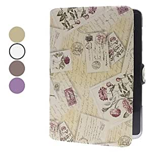 LZX Retro Protective Case with Stand for Samsung Galaxy Note 10.1 N8000 , Purple