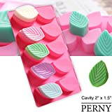 PERNY Leaf Molds, Leaf Silicone Soaps Mold