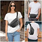 Fanny Pack for Women & Men, Hip Bum Bag Waist Pack