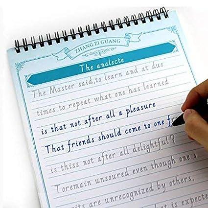 Postes de escritura de mano de caligrafía italiana inglesa para ...